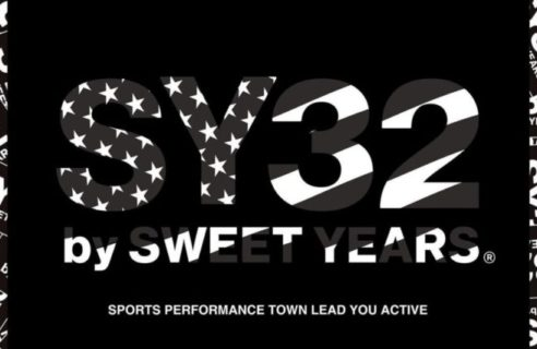 "【SY32 by SWEET YEARS / エスワイサーティトゥ バイ スウィートイヤーズ】""BOX LOGO L/S TEE"""