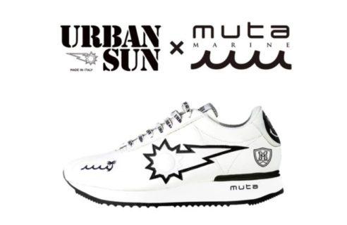 """【URBANSUN × muta MARINE】""""コラボレーション スニーカー"""""""
