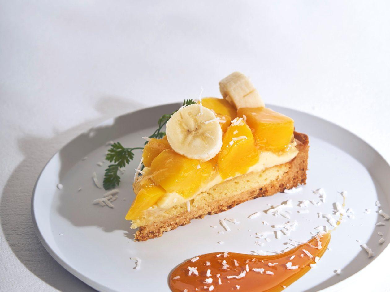ごろごろマンゴーとバナナが嬉しい!新作タルトが登場。