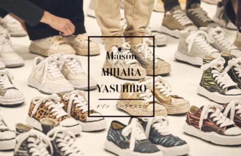 """【Maison MIHARA YASUHIRO / メゾン ミハラヤスヒロ】""""New Sneaker"""""""