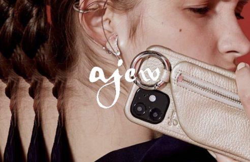 """【ajew / エジュー】""""New iPhone case"""""""