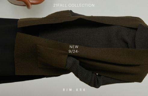 RIM.ARK 【9/24 order start new item】