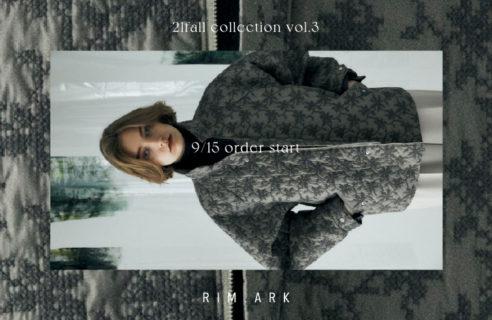 RIM.ARK 【9/15 order start new item】