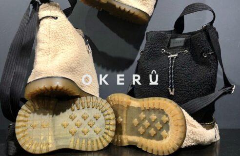 """【OKERU / オケル】""""New Boa Bag"""""""